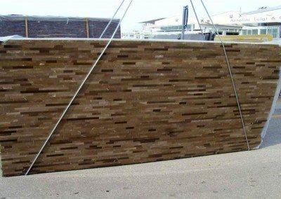 Bronze Amani Brick Pattern