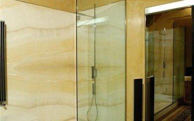 Onyx Ivory Shower
