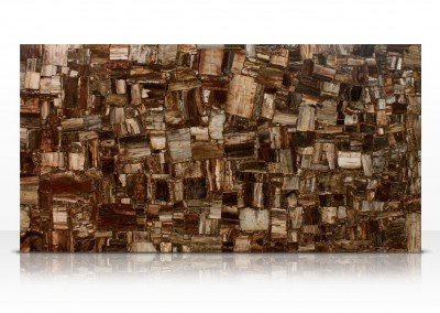 Retro petrified wood