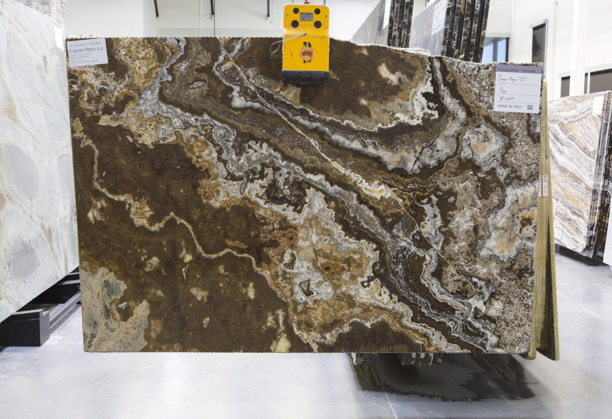 Canyon onyx cc galleria of stone arizona for Azerocare