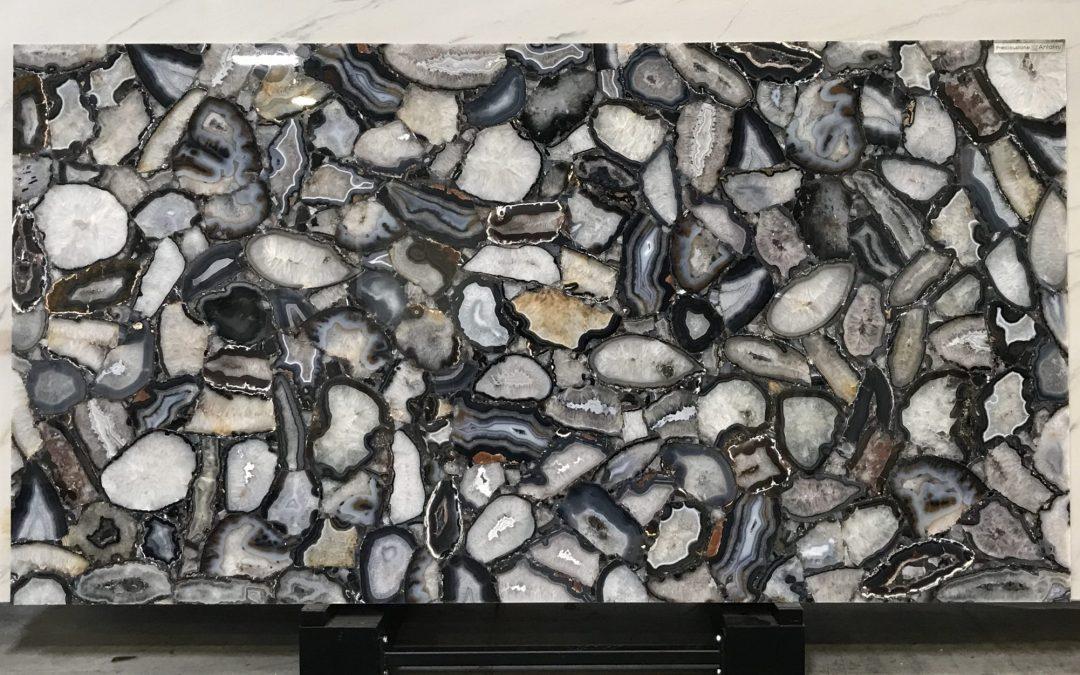 Crystal Agate Black- Precioustone