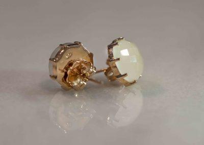 Icon Earrings- Crystal Quartz