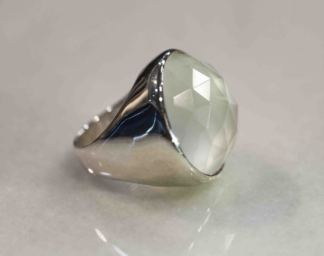 Icon Ring- Crystal Quartz