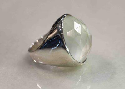 Icon Ring- Crystal Quartz